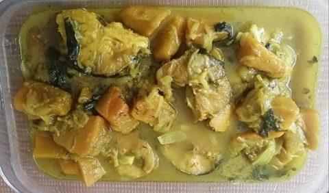 Pangas curry 1